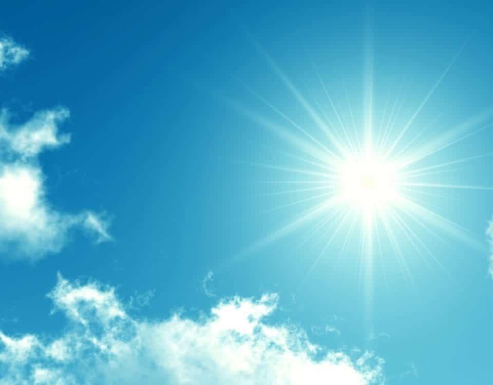 Banner-Sonne